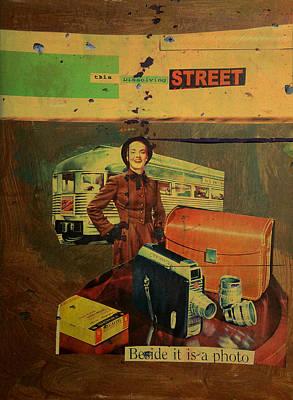 This Dissolving Street Print by Adam Kissel