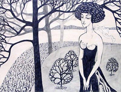 This Is Me Print by Valentina Plishchina