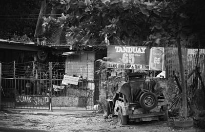 This Is The Philippines No.30 - Junk Shop Print by Paul W Sharpe Aka Wizard of Wonders