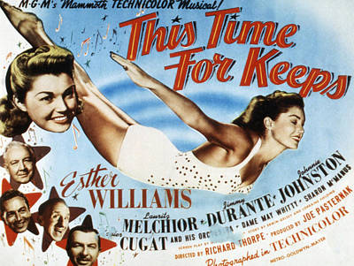 Posth Photograph - This Time For Keeps, Esther Williams by Everett