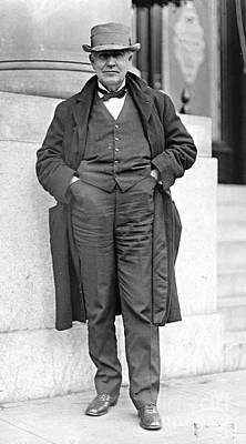 Thomas Alva Edison Photograph - Thomas Alva Edison 1911 by Padre Art