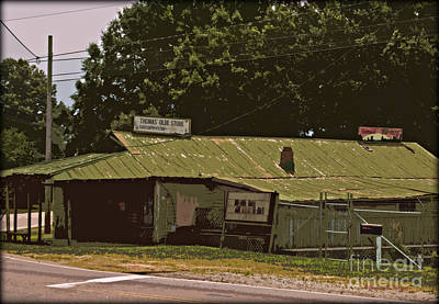 Landscape Photograph - Thomas' Old Store by Paulette B Wright