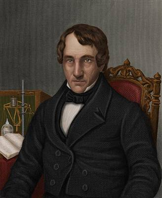 Thomas Thomson, Scottish Chemist Print by Maria Platt-evans