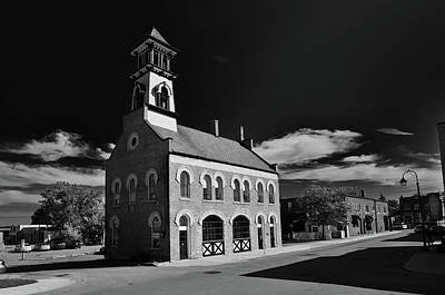 Thorold's Old Fire Hall Print by Guy Whiteley