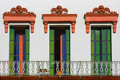 Pioneers Photograph - Three Of A Kind - The Windows In Old Sacramento by Christine Till
