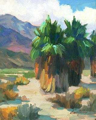 Impressionism Photograph - Three Palms by Diane McClary