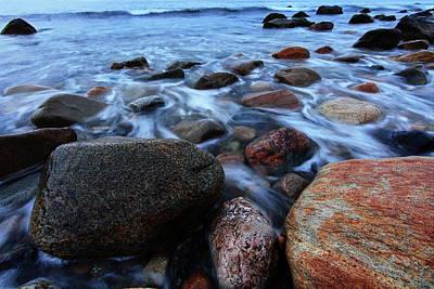 Montauk Photograph - Through The Rocks by Rick Berk