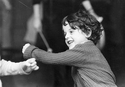 Boys Boxing Photograph - Throwing A Punch by Graham Wood