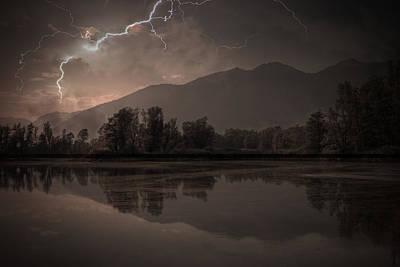 Switzerland Photograph - Thunder Storm by Joana Kruse