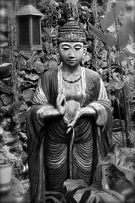 Tibetan Buddha Print by Karon Melillo DeVega