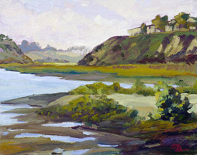 Tidal Basin Painting - Tidal Back Bay by Mark Lunde