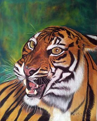 Tiger Print by Ursula  Thuleweit Laranjeiro