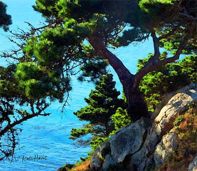 Timber Cove In Sonoma Coast Original by Russ Harris