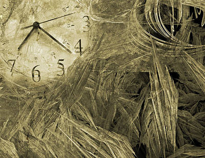 Old Age Digital Art - Time Piece I by Betsy Knapp