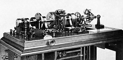 Time Standardisation Apparatus, 1913 Print by