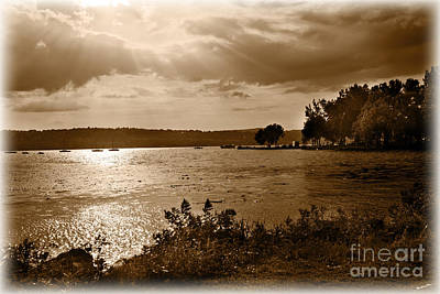 Waterview Photograph - Time Stands Still by Madeline Ellis