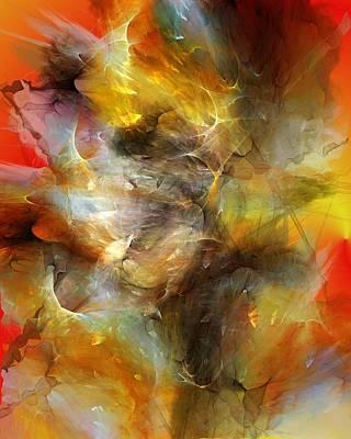 Phenomenon Digital Art - Time Storm by David Lane