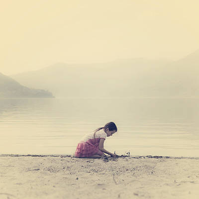 Water Play Photograph - Time To Be by Joana Kruse