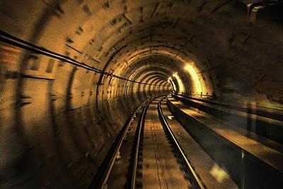 Time Tunnel Original by Evan Spellman