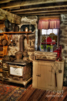 Times Gone By Print by Susan Candelario