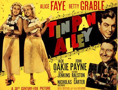 Tin Pan Alley, Alice Faye, Betty Print by Everett