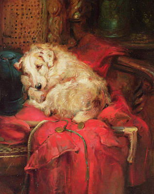 Tired Out Print by Philip Eustace Stretton