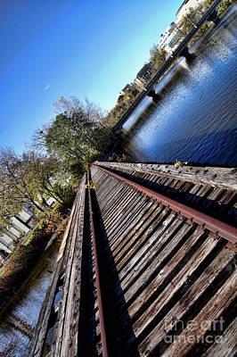 Appleton Photograph - Titled Tracks by Craig Ebel
