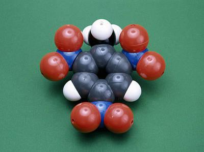 Tnt Photograph - Tnt Molecule by Andrew Lambert Photography