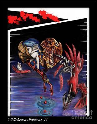 To Kill A Cardinal Print by Rebecca  Stephens