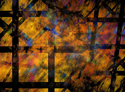 Abstract Digital Art - To See The Fire by Betsy C Knapp