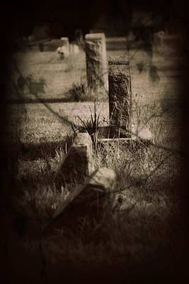 To The Grave Print by Mandy Shupp