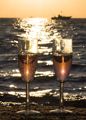 Toast To The Evening Original by Jeramie Curtice