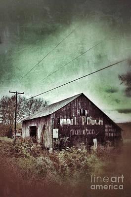 Telephone Poles Photograph - Tobacco Barn by Jill Battaglia