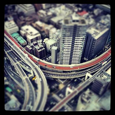 Y120831 Photograph - Tokyo Highway by Frank Lee