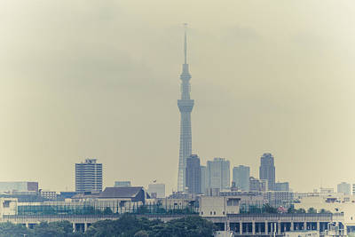 Y120831 Photograph - Tokyo Skytree by Gregory Ferguson