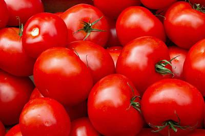 Vegatables Photograph - Tomatos by David Freuthal