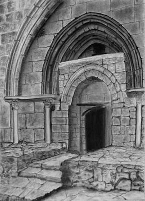Ancient Drawing - Tomb Of Virgin Mary by Marwan Hasna - Art Beat