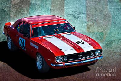 Muscle Car Masters Photograph - Tony Hubbard Camaro by Stuart Row