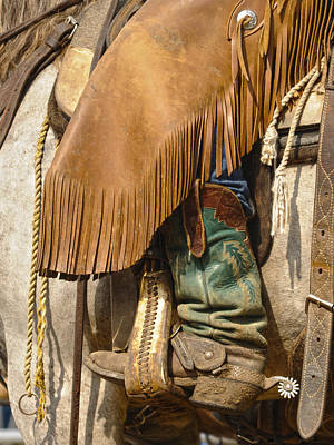 Concho Photograph - Tools Of The Trade by Ron  McGinnis