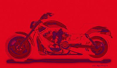 Must Art Digital Art - Tooo Hot by Wayne Bonney