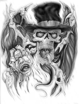 Top Hat Print by Mike Royal