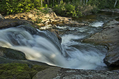 Michigan Waterfalls Photograph - Top Of The Dog 4191 by Michael Peychich
