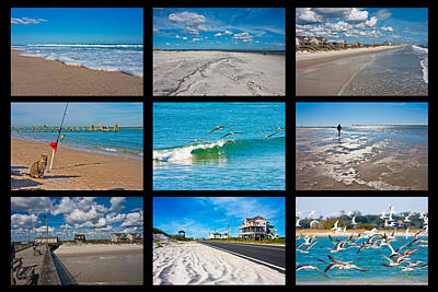 Topsail Island Images Print by Betsy C Knapp