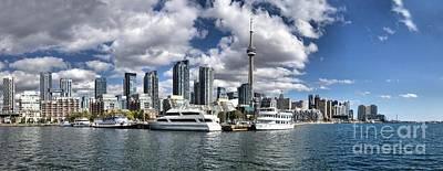 Photograph - Toronto Skyline  by Andrea Kollo