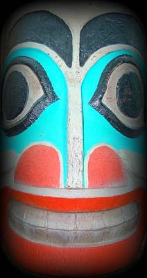 Woodcarving Photograph - Totem 5 by Randall Weidner