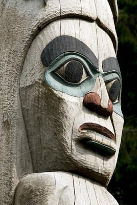 Totem Close Up Print by Gloria & Richard Maschmeyer