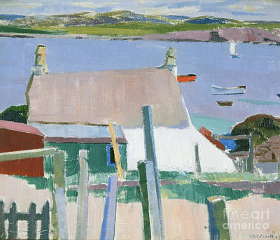 Harbor Painting - Towards Mull by Francis Campbell Boileau Cadell