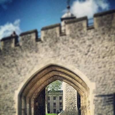 Dungeon Photograph - #tower #london #famous #landmark by Joe Mitchell