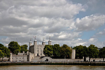 London Skyline Photograph - Tower Of London by Dawn OConnor