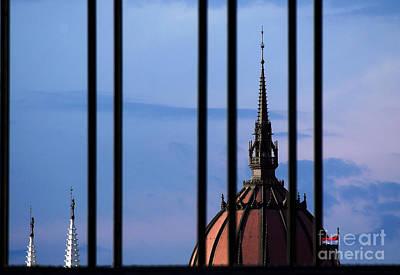 Towers Print by Odon Czintos